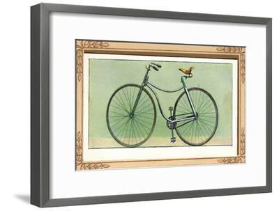 Rover Safety Bicycle', 1939-Unknown-Framed Giclee Print