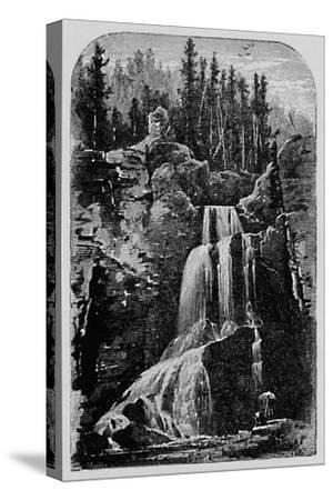 'Crystal Falls', 1883-Unknown-Stretched Canvas Print
