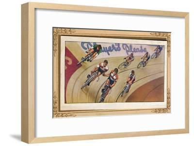 'Six-Day Racing', 1939-Unknown-Framed Giclee Print