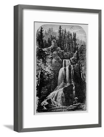 'Crystal Falls', 1883-Unknown-Framed Giclee Print