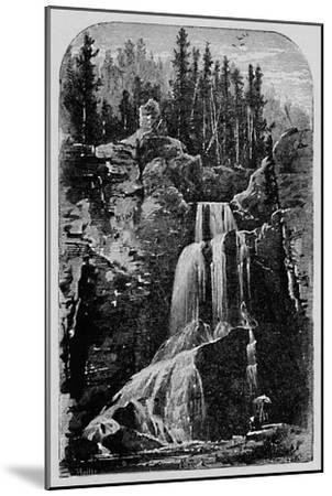 'Crystal Falls', 1883-Unknown-Mounted Giclee Print