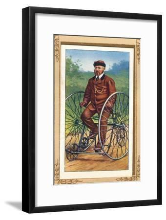 Salvo Tricycle', 1939-Unknown-Framed Giclee Print