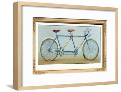 'Touring Tandem', 1939-Unknown-Framed Giclee Print