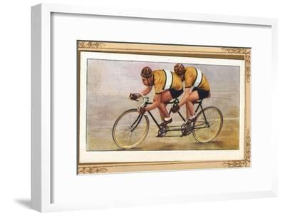 'Track Tandem Position', 1939-Unknown-Framed Giclee Print