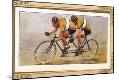 'Track Tandem Position', 1939-Unknown-Mounted Giclee Print