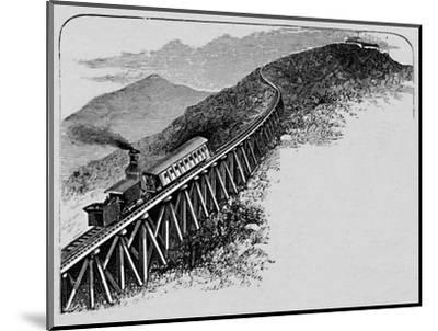 'Mount Washington Railway', 1883-Unknown-Mounted Giclee Print
