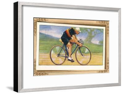 'Massed-Start Racing Position', 1939-Unknown-Framed Giclee Print