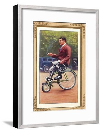 'Italian Velocino Bicycle', 1939-Unknown-Framed Giclee Print