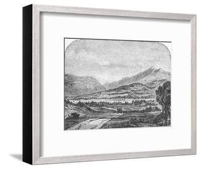 'Franconia Mountains, from Thornton', 1883-Unknown-Framed Giclee Print