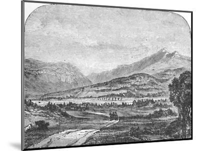 'Franconia Mountains, from Thornton', 1883-Unknown-Mounted Giclee Print