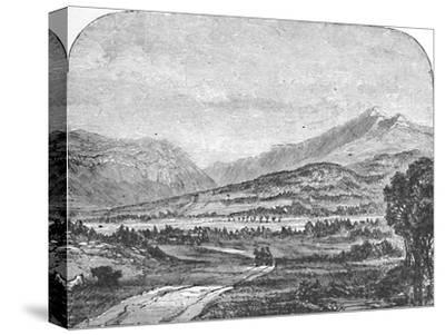 'Franconia Mountains, from Thornton', 1883-Unknown-Stretched Canvas Print