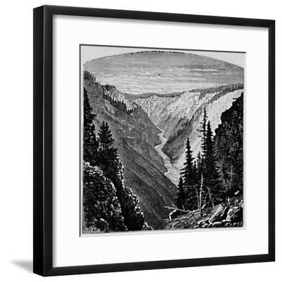 'The Grand Cañon', 1883-Unknown-Framed Giclee Print