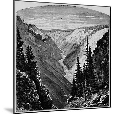 'The Grand Cañon', 1883-Unknown-Mounted Giclee Print