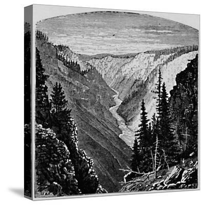 'The Grand Cañon', 1883-Unknown-Stretched Canvas Print