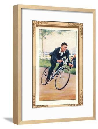 'Road Time Trial Position', 1939-Unknown-Framed Giclee Print