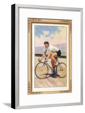 'Track Racing Position', 1939-Unknown-Framed Giclee Print