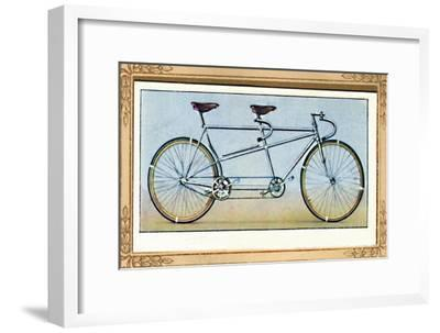 'Racing Tandem', 1939-Unknown-Framed Giclee Print