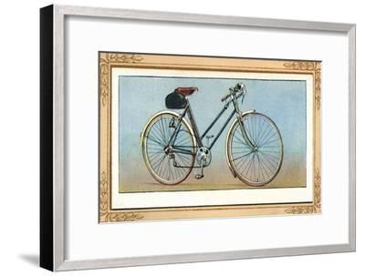 'Lady's Bicycle (3 Speed Gear and Dynamo Lighting)', 1939-Unknown-Framed Giclee Print