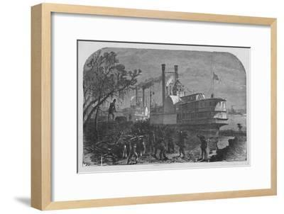 'Wooding Up', 1883-Unknown-Framed Giclee Print