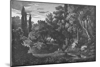 'In the Wilds', 1883-Unknown-Mounted Giclee Print