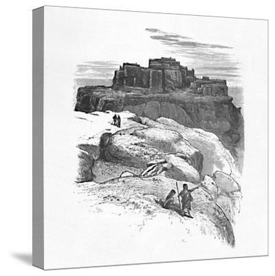 'Another View of Moqui', 1883-Unknown-Stretched Canvas Print