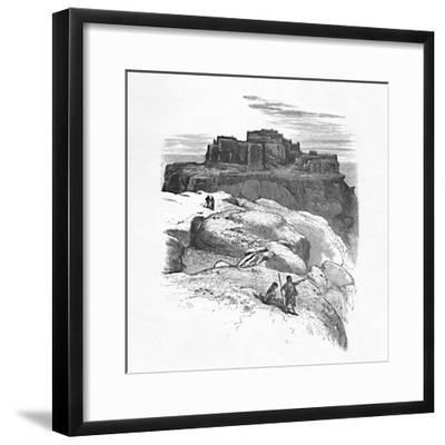 'Another View of Moqui', 1883-Unknown-Framed Giclee Print