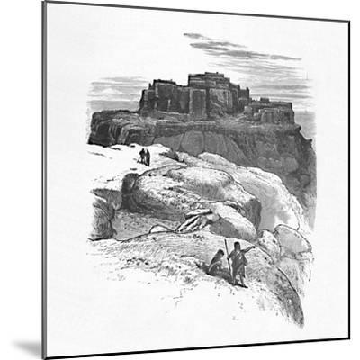 'Another View of Moqui', 1883-Unknown-Mounted Giclee Print
