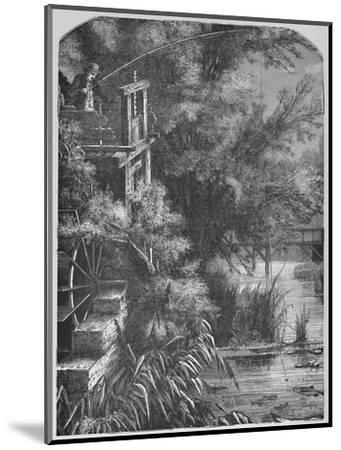 'Scene on a Creek Emptying Into The Little Juniata', 1883-Unknown-Mounted Giclee Print