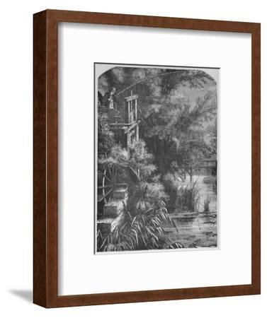 'Scene on a Creek Emptying Into The Little Juniata', 1883-Unknown-Framed Giclee Print