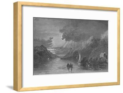 'Sabbath-Day Point, Lake George', 1883-Unknown-Framed Giclee Print