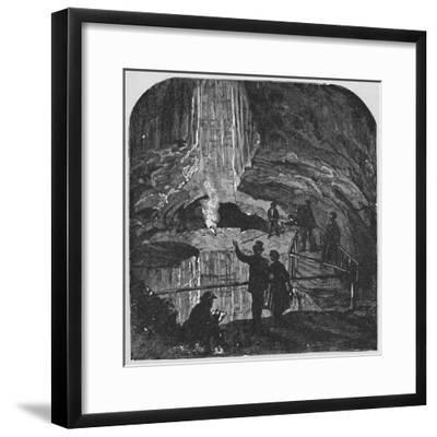 'The Bottomless Pit', 1883-Unknown-Framed Giclee Print