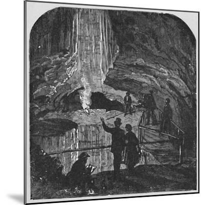 'The Bottomless Pit', 1883-Unknown-Mounted Giclee Print