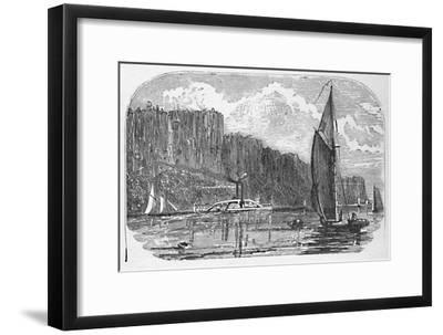 'The Palisades', 1883-Unknown-Framed Giclee Print