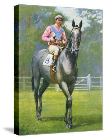 Rogerstone Castle, Jockey: E. C. Elliott', 1939-Unknown-Stretched Canvas Print