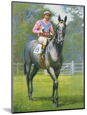 Rogerstone Castle, Jockey: E. C. Elliott', 1939-Unknown-Mounted Giclee Print