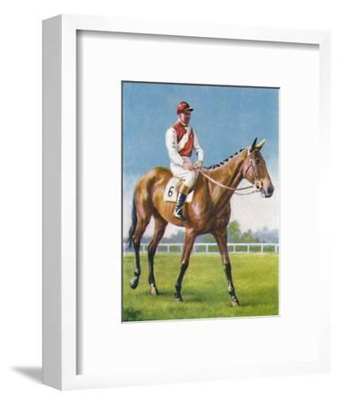Royal Danieli, Jockey: D. Moore', 1939-Unknown-Framed Giclee Print