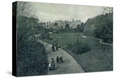 'Boscombe Gardens', c1910-Unknown-Stretched Canvas Print