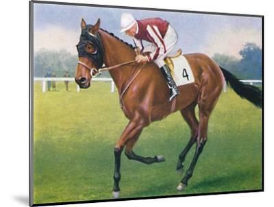 Portobello, Jockey: P. Beasley', 1939-Unknown-Mounted Giclee Print