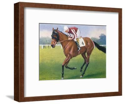 Portobello, Jockey: P. Beasley', 1939-Unknown-Framed Giclee Print