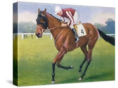 Portobello, Jockey: P. Beasley', 1939-Unknown-Stretched Canvas Print