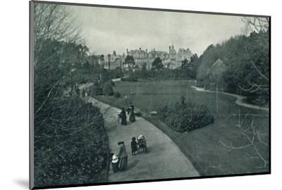 'Boscombe Gardens', c1910-Unknown-Mounted Photographic Print