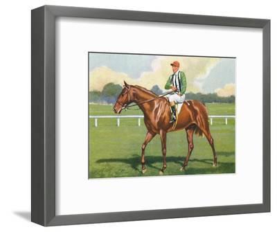 Carlisle, Jockey: B. Carslake', 1939-Unknown-Framed Giclee Print