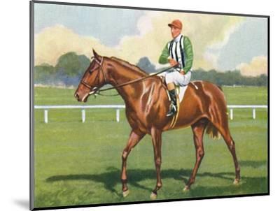 Carlisle, Jockey: B. Carslake', 1939-Unknown-Mounted Giclee Print