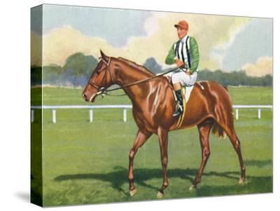 Carlisle, Jockey: B. Carslake', 1939-Unknown-Stretched Canvas Print