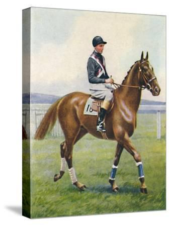 Battleship, Jockey: B. Hobbs', 1939-Unknown-Stretched Canvas Print