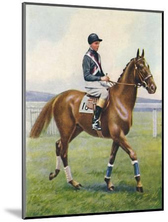 Battleship, Jockey: B. Hobbs', 1939-Unknown-Mounted Giclee Print