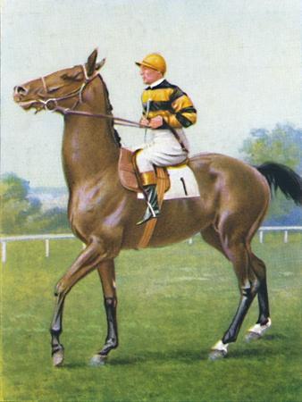 Golden Sovereign, Jockey: T. Weston', 1939-Unknown-Framed Giclee Print