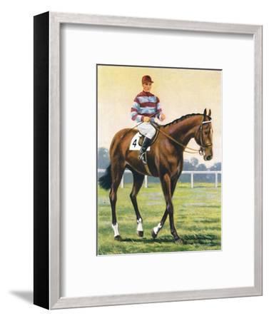 Couvert, Jockey: C. Richards', 1939-Unknown-Framed Giclee Print