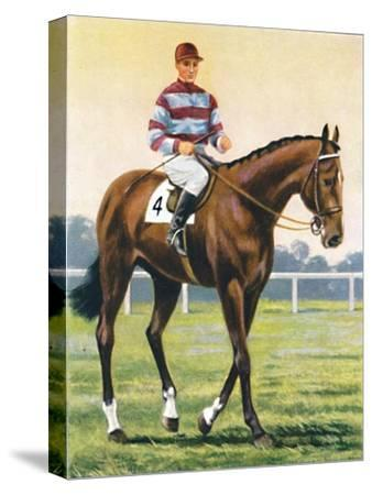 Couvert, Jockey: C. Richards', 1939-Unknown-Stretched Canvas Print