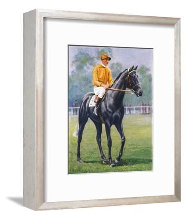 Foray, Jockey: P. Beasley', 1939-Unknown-Framed Giclee Print